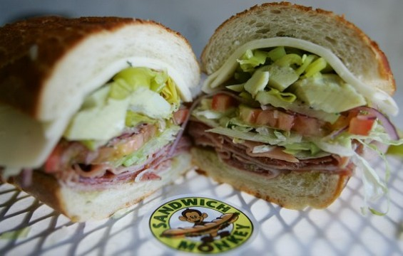 Subs are a fitting menu focus for The Sandwich Monkey. - MIKE KOOZMIN/THE S.F. EXAMINER