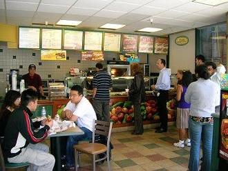 Subway franchise on Main at Howard in SOMA. - DAVID D./YELP
