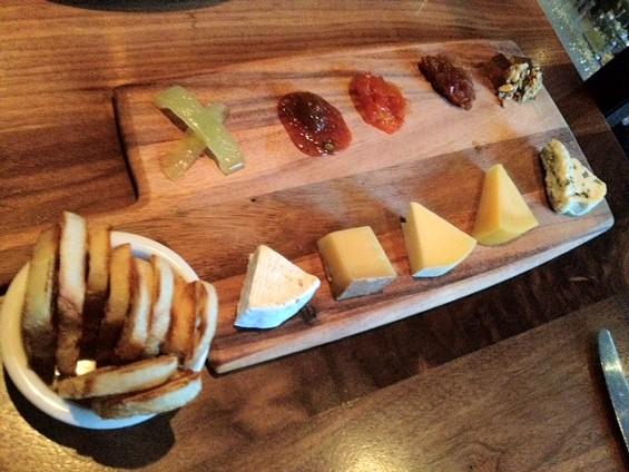 Summer cheese board at Bluestem Brasserie. - TAMARA PALMER