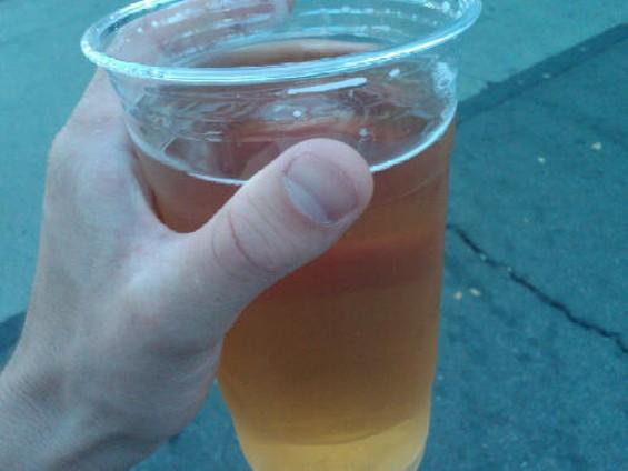 Summer essential: Chugging beer in some stadium parking lot. - FRANCOBOBFRED II/FLICKR