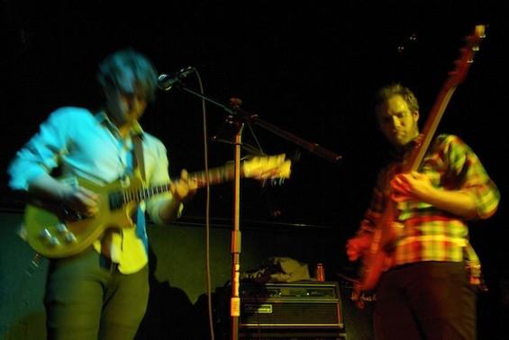 Sunbeam Rd. performing at Milk Bar in September
