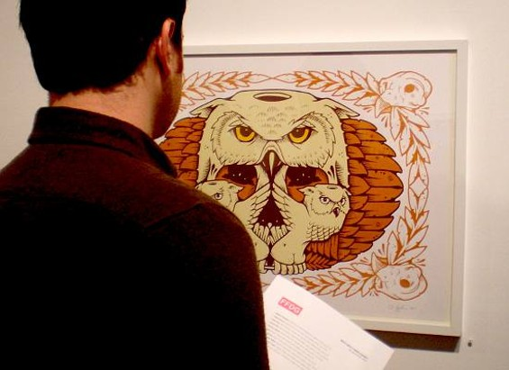Sunset? Owls? Kurt Andre considers. - JEREMY FISH