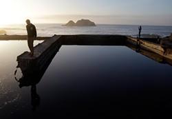 AP PHOTO/MARCIO JOSE SANCHEZ - Sutro Baths