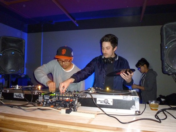 Sweater Funk DJs Livin Proof and Two Step Lou