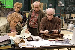 Synecdoche, like most of Kaufman's work, is a head trip.