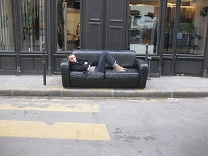 Take the couch. Hell, take the hipster, too. - URBAN SNAPS