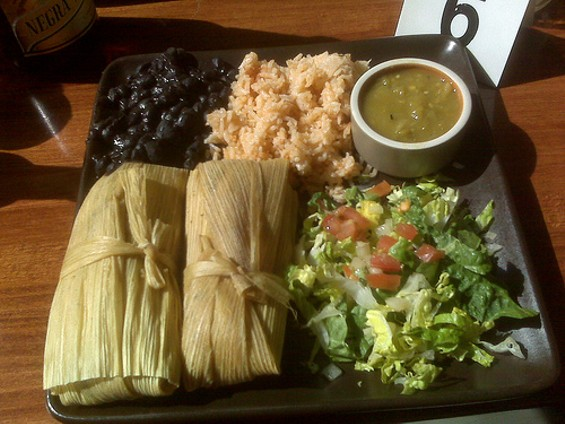 Tamales at Green Chile Kitchen: Closest S.F. comes to Tex Mex? - AMACEDO/FLICKR