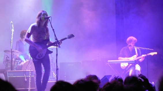 Tame Impala at the Fillmore last night. All photos by the author.