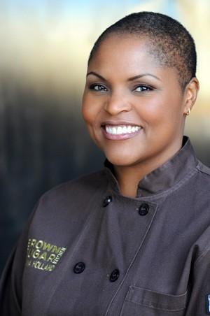 Tanya Holland, of Brown Sugar Kitchen and B-Side BBQ. - LISA KEATING PHOTOGRAPHY