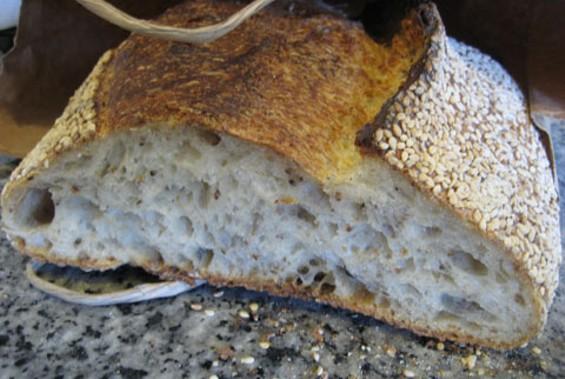 Tartine's sesame bread. - JONATHAN KAUFFMAN