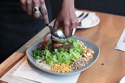 GABRIELLE LURIE - Tea leaf salad is a perennial Burma Superstar — and now Burma Love — favorite.