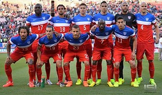 Team USA shortly before its underwhelming Candlestick victory. - FACEBOOK