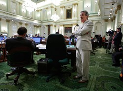 AP/RICH PEDRONCELLI - Tenacious Tom Ammiano has been pushing some form of AB 2372 for six years.