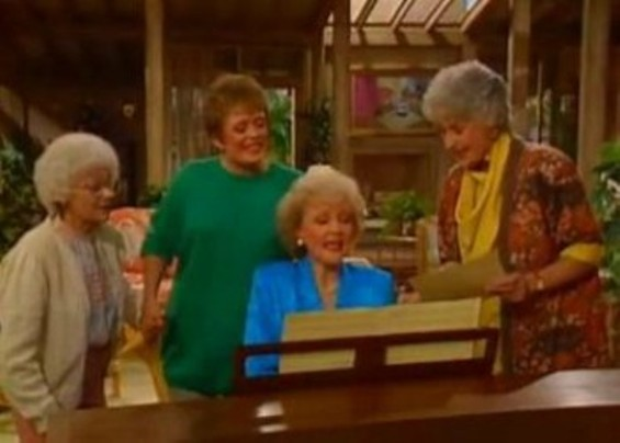 Thank you for being a friend... - GOLDEN GIRLS/ WIKIPEDIA