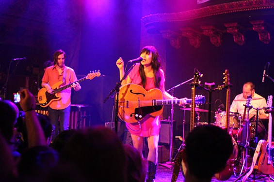 Thao & the Get Down Stay Down at the Great American Music Hall for Noise Pop 2013. All photos by the author.