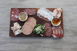 MIKE HENDRICKSON - That's some good-looking charcuterie.