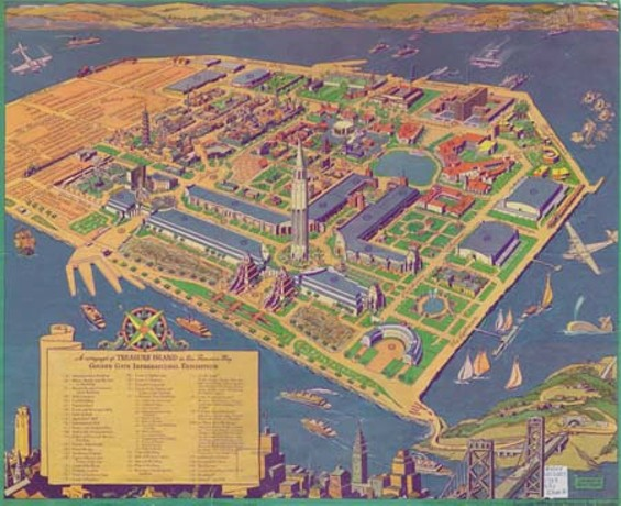 The 1939 Golden Gate International Exposition on Treasure Island