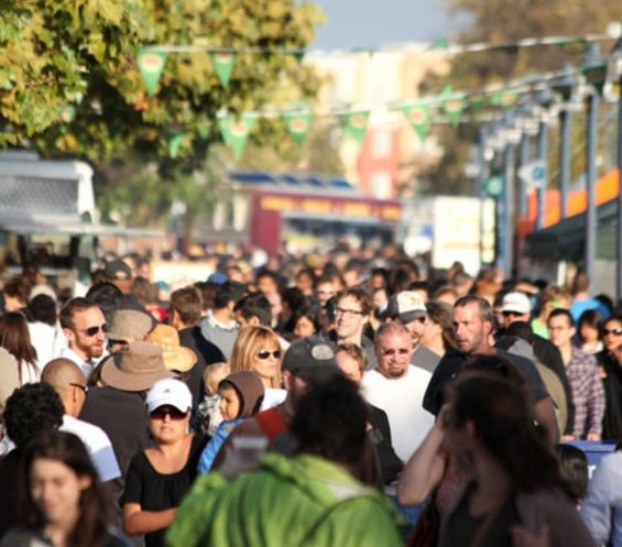 The 2010 Eat Real Festival saw a 40 percent increase in attendees over 2009. - JOSEPH SCHELL
