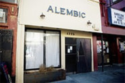 JAMES  SANDERS - The Alembic, when you are looking for the sleek and chic.