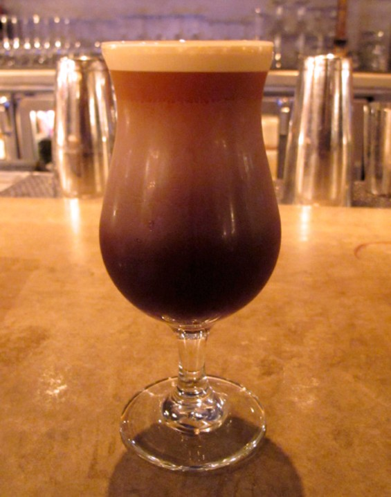 The almost stout-like iced coffee - LOU BUSTAMANTE