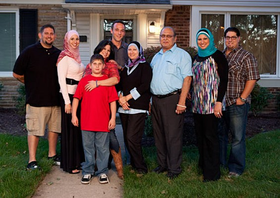 "The Amens, one of five families in the cast of ""All-American Muslim"" - TLC"