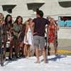 <em>The Bachelor</em> Set: Ben Flajnik Skis in San Francisco's Russian Hill (Photos)