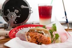 KIMBERLY SANDIE - The Baja fish taco does fuse Mexico and Massachusetts.