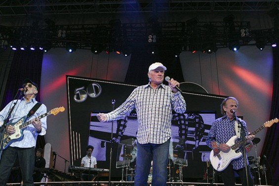 The Beach Boys at the Greek Theatre on Friday - CHRISTOPHER VICTORIO