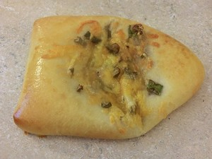 The beef and cheese piroshki is a squirter. - ALEX HOCHMAN