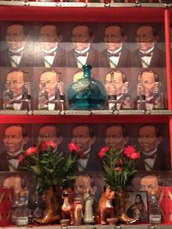 The Benito Juarez bar at Loló, dedicated to all things agave. - SUSAN COSS