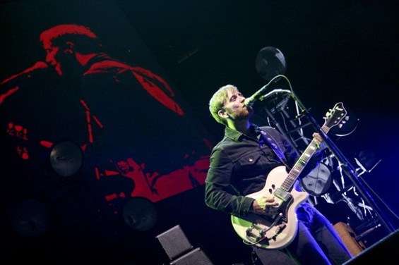 The Black Keys at Oracle Arena on Friday. - CHRISTOPHER VICTORIO