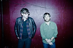 The Black Keys: Playing their blues-rawk for a well-heeled Napa crowd next month.