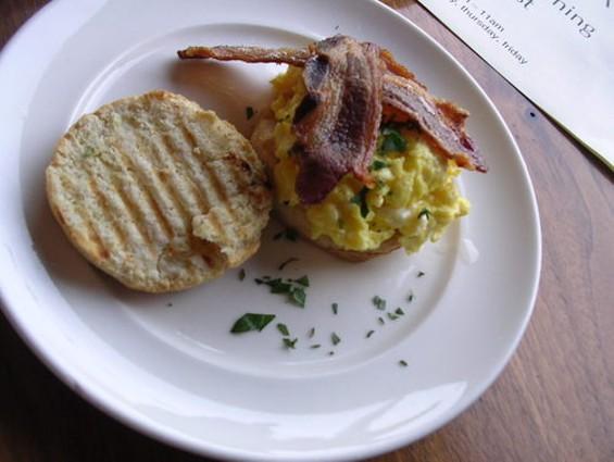 The breakfast sandwich: Quietly deft. - J. BIRDSALL
