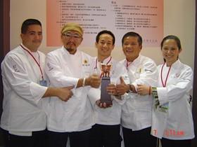 The bronze-winning 2007 San Francisco team in Taipei. - ASIAN CHEFS ASSOCIATION