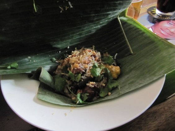 """The Cantonese """"tamale."""" - A. SIMMONS"""