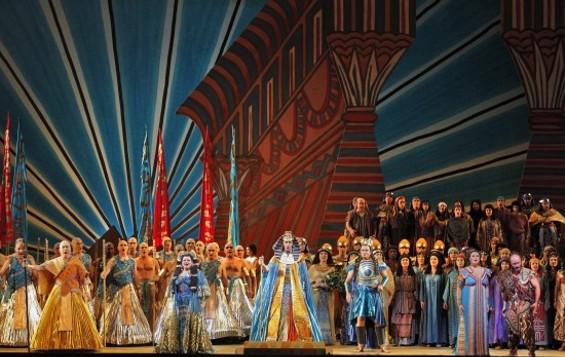 The cast of Aida - CORY WEAVER