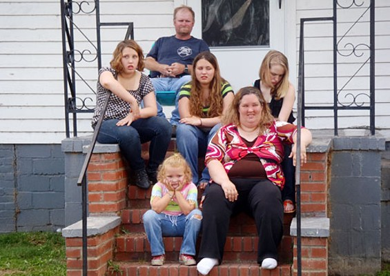 The cast of TLC's Here Comes Honey Boo Boo
