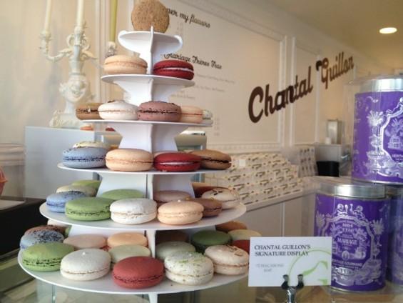 The Christmas display at Chantal Guillon. - CHRISTINA SPITTLER