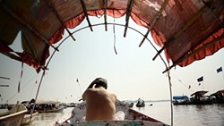 The cleaning of India's lethally polluted Ganges River is one of the environmental challenges portrayed in Elemental.