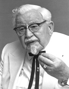 The Colonel's chain of eateries remind us of ... DUI checkpoints