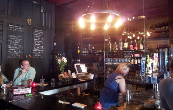 The craft beer bar at The Willows. - PETE KANE