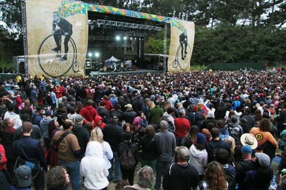 The crowd at Outside Lands 2012