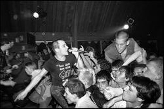 The Dead Kennedys, photographed by Glen E. Friedman