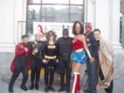 """COURTESY OF JENNIFER SARCHE - The Department of Public Health's HIV research team is looking for """"superheroes."""""""