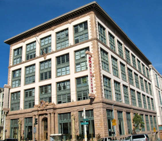 The Don Lee Building at 1000 Van Ness is on the National Register of Historic Places.