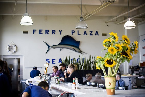 The Ferry Building is the ideal place to bring tourists to, but it's not the only one. - IMELDA/FLICKR