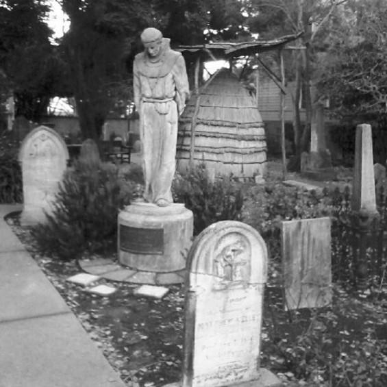 The final resting spot for early California pioneers. - JUAN DE ANDA/SF WEEKLY