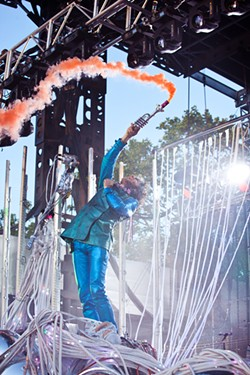 EMILY SEVIN - the Flaming Lips exploded at the first BottleRock