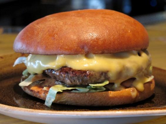 The Fog City Burger - LOU BUSTAMANTE