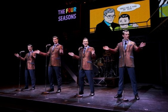 """The Four Seasons sing the infamous hit """"Walk Like a Man"""""""